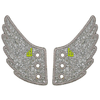 SHWINGS Silver Sparkle Wings - Skatescool Australia