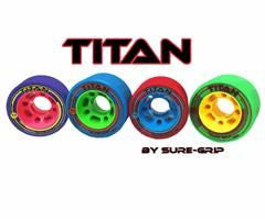 Sure Grip Titan 62mm Narrow Wheels 4pk - Skatescool Australia