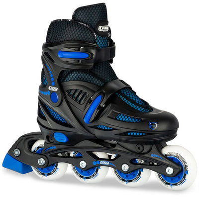 Crazy 148 Adjustable BLACK/BLUE Inline Skate