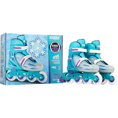 Crazy 148 Adjustable TEAL Inline Skate