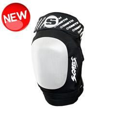SMITH SCABS Elite II Blk/Wh Knee Pad - Skatescool Australia  - 1