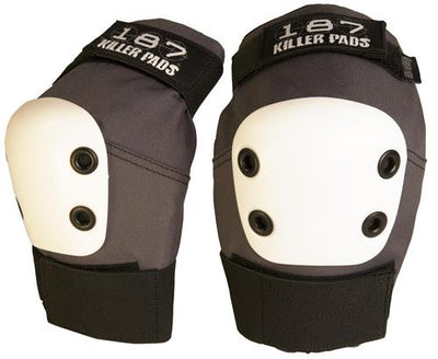 187 PRO Elbow Pads Grey - Skatescool Australia