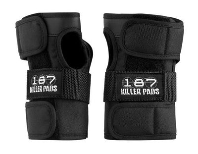187 Wrist Guards - Black - Skatescool Australia