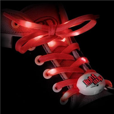 RDS Lighted Laces Red 72 inch - Skatescool Australia