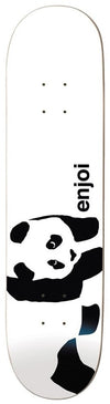 "Enjoi - Panda Logo Whitey 8.5"" Skateboard Deck"