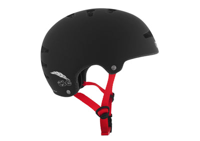 TSG SUPERLIGHT - FLAT BLACK RED STRAP - Skatescool Australia