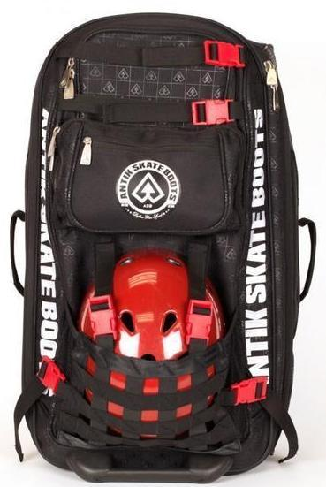 ANTIK BLACK EQUIPMENT WHEELIE BAG (Sold out) - Skatescool Australia