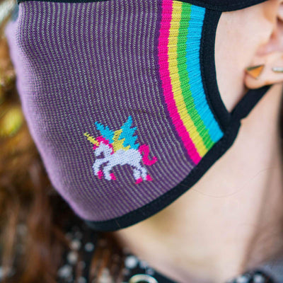 Sock it to Me I Speak Unicorn Reusable Adult Face Masks