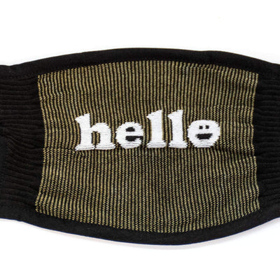 Sock it to Me You had me at Hello Reusable Adult Face Masks