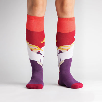 SOCK IT TO ME WILD HORSES KNEE HIGH SOCKS - Skatescool Australia