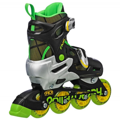 RDS FLUX BOYS SMALL ADJUSTABLE QUAD/INLINE SKATES - Skatescool Australia