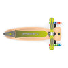 Globber PRIMO FOLDABLE WOOD w /Lights - Green - Skatescool Australia