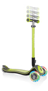 GLOBBER ELITE DELUXE w/Lights - Lime Green - Skatescool Australia