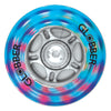 Globber 80mm Rear Light Up Wheel for Evo/Primo(1pce) - Skatescool Australia