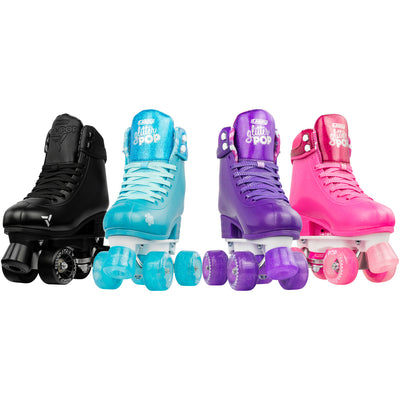 Crazy Glitter Pop Roller Skates Purple