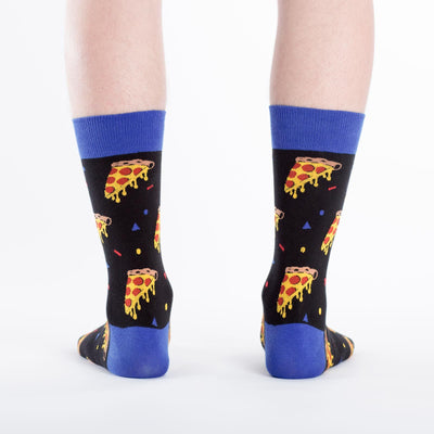 Sock It To Me PIZZA PARTY MENS CREW SOCKS - Skatescool Australia