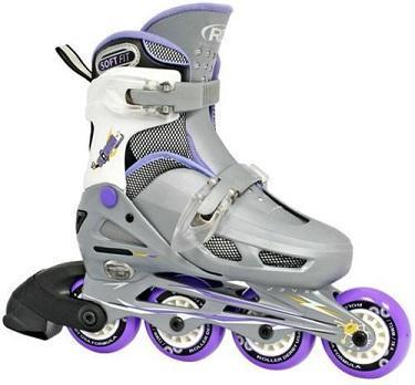RDS COBRA GIRLS PURPLE ADJUSTABLE INLINE SKATES - Skatescool Australia