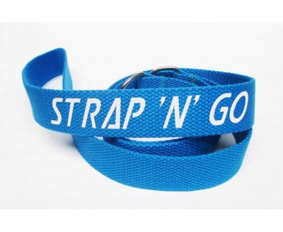 Strap N Go Skate Noose/Leash - Plain Colours - Skatescool Australia