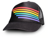 Pride Socks Trucker Hat - Fading Black YOUTH