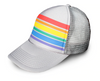 Pride Socks Trucker Hat - Grey