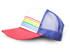 Pride Socks Trucker Hat - Red/Blue