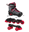 RDS 2N1 Soft Boys 3-6 Adjustable Quad/Inline Skates - Skatescool Australia