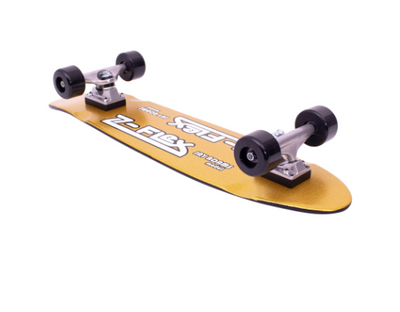 "Z-FLEX CRUISER 29"" - Jay Adams Metal Flake Gold - Skatescool Australia"