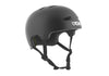 TSG EVOLUTION HELMET - SATIN BLACK - Skatescool Australia