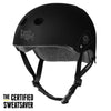 TRIPLE 8 THE CERTIFIED HELMET SS STREET PLANT BLACK RUBBER