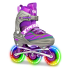 Crazy Trix Pro Adjustable Inline Skates Purple