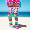 MADMIA PARTY OWL KNEE HIGH SOCKS (AGES 6-ADULT) - Skatescool Australia