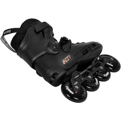 POWERSLIDE NEXT CORE BLACK 80 INLINE SKATES - Skatescool Australia