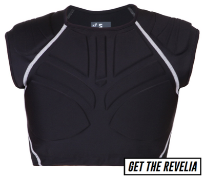 REVELE REVELIA BODY ARMOUR WITH SHOULDER PADS - Skatescool Australia