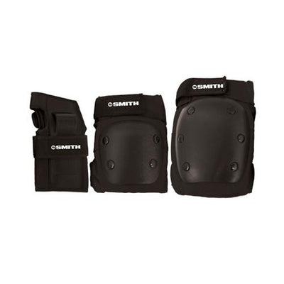 Smith-Adult Tripack Black - Skatescool Australia