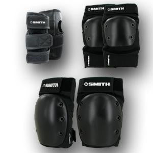 Smiths Scabs Youth Black Tri-Pack - Skatescool Australia