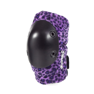 Smith Scabs Elite Purple Leopard Elbow Pads - Skatescool Australia