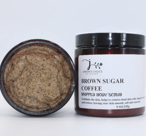 BROWN SUGAR COFFEE WHIPPED BODY SCRUB