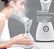 Load image into Gallery viewer, FACIAL MOISTURIZING STEAMER  DEEP CLEANSING BEAUTY FACE STEAMING MACHINE.