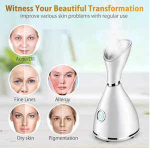 FACIAL MOISTURIZING STEAMER  DEEP CLEANSING BEAUTY FACE STEAMING MACHINE.