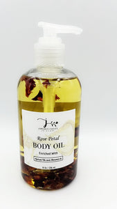 ROSE PETAL BODY OIL