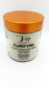 CLARIFYING FRENCH GREEN CLAY MASK DEEPLY PURIFYING