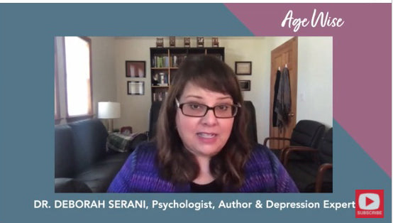 Silver Solutions AGE WISE Ep 008- CEO, Dan Lagani speaks with Dr. Deborah Serani About Late Life Depression
