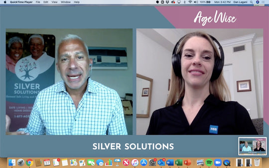 Silver Solutions Age Wise Ep. 3 - CEO Dan Lagani speaks with Dr. Kathleen Davenport from the Hospital for Special Surgery