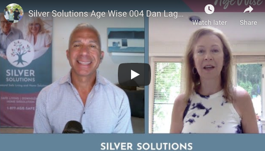 Silver Solutions AGE WISE Ep. 4 featuring CEO, Dan Lagani speaking with Monica Vila, the Online Mom