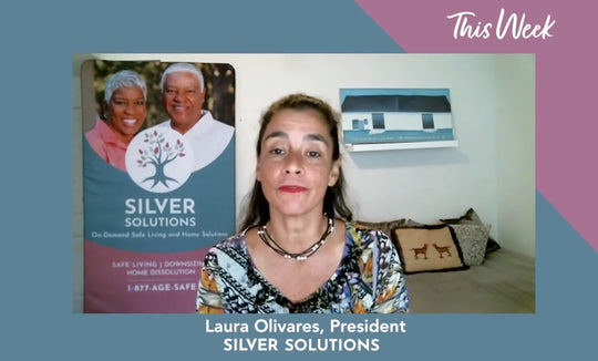 The premiere our new before/after series, THIS WEEK featuring Silver Solutions President, Laura Olivares