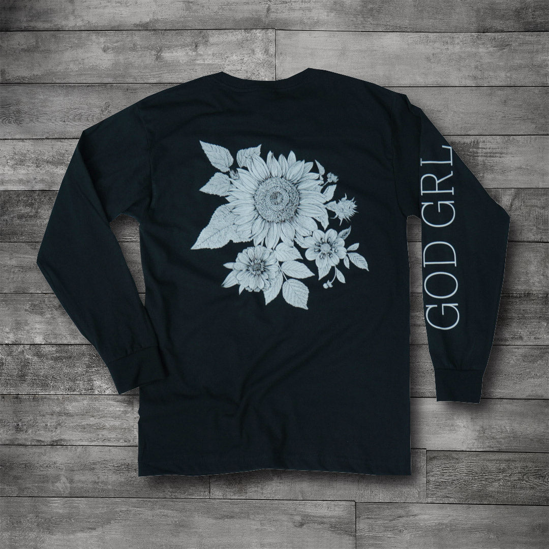 GOD GRL Black Long Sleeve