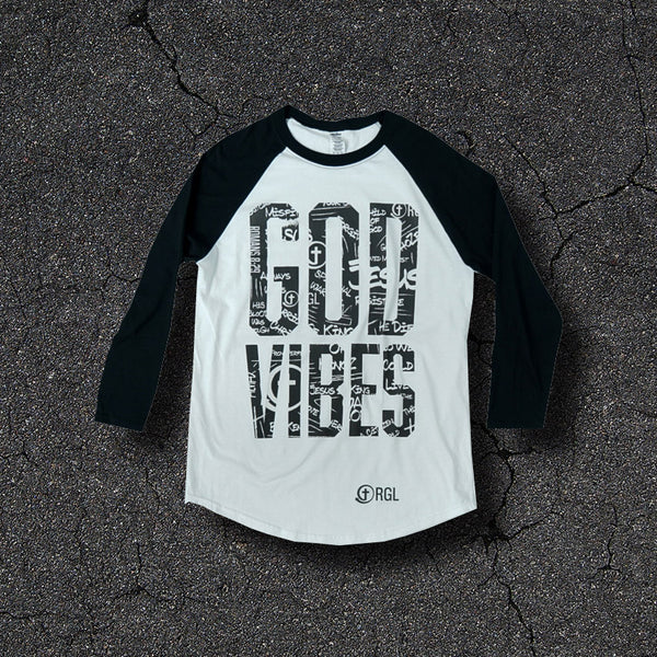 God Vibes 3/4 Sleeve