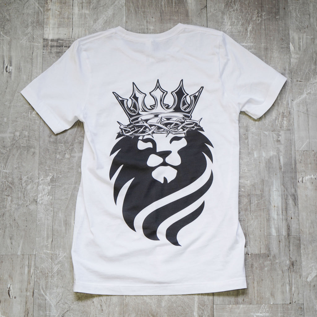 King of Kings White Tee