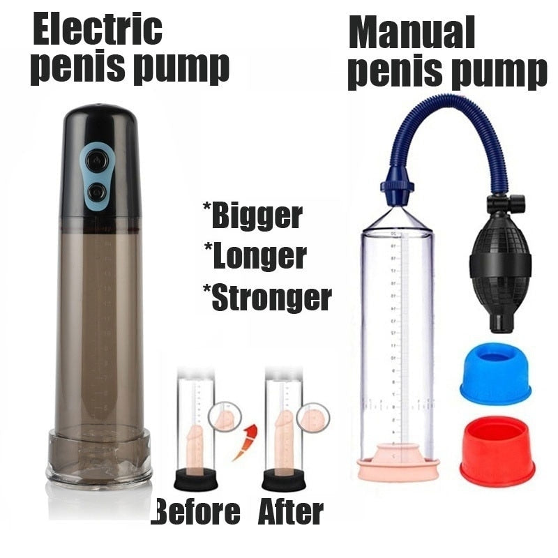 Enlargement Vacuum Pumps Automatic male Enlargement Vibrator Electric Pump electric penis pump vacuum penis pumps penis sleeve
