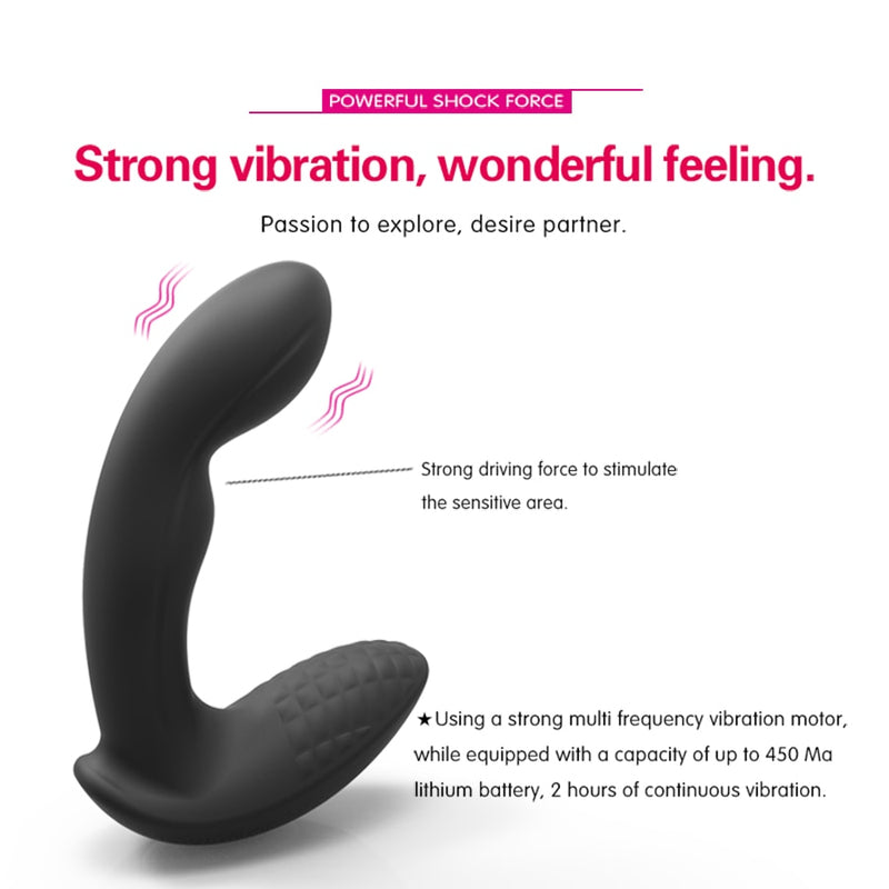 radio-controlled Anal Plug Vibrator sex toys for couples Female G-Spot stimulate, anal Prostate Massager Gay anal toys for adult